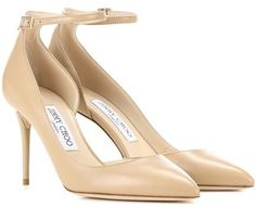 Jimmy Choo Lucy 100 Leather Pumps