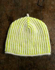 Gina's Brioche Hat andCowl - The Purl Bee - Knitting Crochet Sewing Embroidery Crafts Patterns and Ideas!
