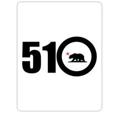 "510 bay Area"" Stickers by daleos East Bay, California Dreamin', Bay Area, Coast, San, Stickers, My Love, Logos, City"