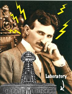 Nikola Tesla (1856-1943)  Achievements: Invented the alternating-current generator that provides light and electricity, the transformer through which it is sent, and even the high voltage coil used in television sets.  Nikola was the ultimate mad scientist, meaning he was both slightly insane and terrifyingly smart. He held 700 patents at the time of his death yet he passed away penniless and in major debt. He once melted one of his assistants' hands by overloading it with X-rays.