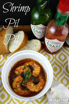 Shrimp Pil Pil is a spicy shrimp spanish tapas recipe. We love to serve it as an appetizer or as one of many small plate entrees. the recipe is easy and takes less than 5 minutes to cook!