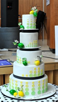 Lemon & Lime Wedding Cake