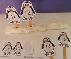 Penguin Activities for Preschool and Kindergarten Winter Activities, Kindergarten Activities, Sequencing Activities, Preschool Ideas, Tacky The Penguin, Artic Animals, Penguins And Polar Bears, Winter Theme, Numeracy