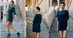 Emerald dress | shop: www.theitem.co