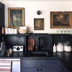 Home Interior Salas .Home Interior Salas Cuisines Design, Home Decor Trends, Interior Design Kitchen, Kitchen Designs, Kitchen Shelf Design, Interior Paint, New Kitchen, Kitchen Ideas, Awesome Kitchen