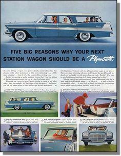 1958 Plymouth wagon