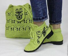 Örgü Ayakkabı Modelleri « Elişi Marketi, Örgü