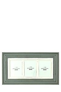 DISTRESSED 3 PICTURE MULTI PHOTO FRAME