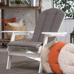 Belham Living Toscano Sunbrella Adirondack Chair Cushion - Take your favorite…