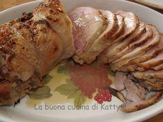La buona cucina di Katty: Coscio di tacchinella farcito al profumo di arancia