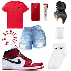 Baddie Outfits Casual, Swag Outfits For Girls, Teenage Girl Outfits, Cute Swag Outfits, Girls Fashion Clothes, Indie Outfits, Teenager Outfits, Dope Outfits, Teen Fashion Outfits