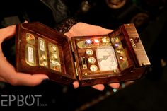 Steampunk'd tricorder! Now I really want to make a steampunk'd Star Trek costume...