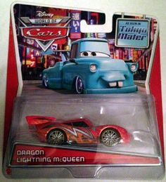 Disney Pixar Cars Toon DieCast Dragon Lightning McQueen 155 Scale See This Great Product