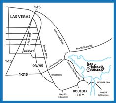 Lake Mead is located next to Hoover Dam in Boulder City, NV. The best way to experience Hoover Dam is from the water of Lake Mead. Lake Las Vegas, Las Vegas Strip, Boulder City Nv, Lake Mead, Area Map, Hoover Dam, North Shore, Cruises, Bouldering
