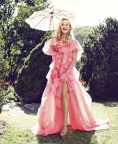 Reese's Evolution: Reese Witherspoon by Alexi Lubomirski for Harper's BAZAAR February 2016 - Gucci Spring 2016