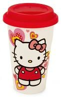 Every time I see this ceramic Hello Kitty mug and B and N I want to buy it!