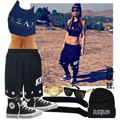 C.R.E.A.M. x Knyew., created by dopegenhope on Polyvore