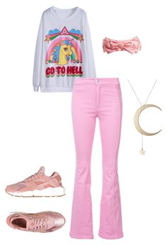 Cute Unicorn Shirt by rebecca-shosey on Polyvore featuring Givenchy, NIKE, Roberto Cavalli and Gucci