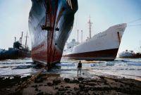 Ship Breaking Yard near Karachi, Pakistan