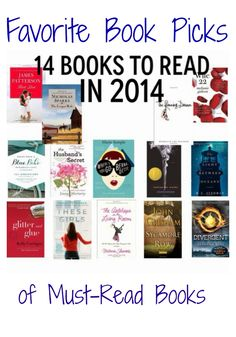 14 Books To Read in 2014 - The Chirping Moms