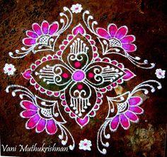 My Kolam: Pretty pink