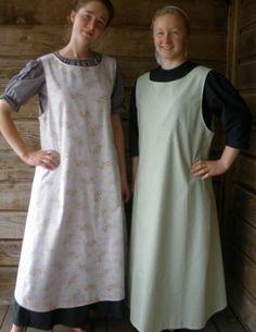Apron kitchen ladies pinafore green floral cotton full length XL 18 20 | eBay
