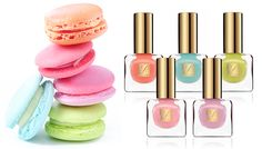 Estee Lauder's Limited Edition Spring Polish Line Inspired By Macarons -- for @Danielle Ness Kramer