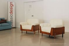 classic design: Before & After: Jorge Zalszupin Lounge Chairs