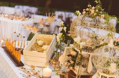 La decoración romántica de la boda de Silvia y Marco