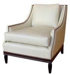 "Leo Chair - Hand-carved Hardwood Frame  30""W x 35.5""D x 32.75""H"