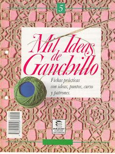 REVISTAS DE MANUALIDADES Free: Mil ideas de ganchillo