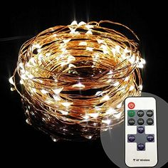 #decor Features: 100% Brand New LED Quantity: 100pcs Length:33ft Adapter input voltage: 100V-240V AC Dimmer with RF #remote control,one remote can controller sev...