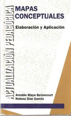 Libros y materiales educativos: Mapas conceptuales. Elaboración y aplicación