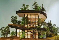 Arquitetura contemporânea.