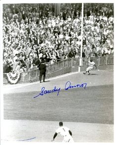 Sandy Amoros (Dec. 1992) Autographed/ Original Signed 8x10 Photo Showing His Famed Catch During Game 7 of the 1955 World Series Off the Bat of Yogi Berra of the Yankees - Allowing the Brooklyn Dodgers to Win Their Only World Series by Original Sports Autographs. $149.99. Sandy Amoros (deceased 1992) has originally signed this famed photo of one of the greatest catches in baseball history - a spectacular grab of a line drive off the bat of Yankee Yogi Berra in t...