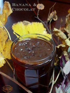 Tante Kiki: 'Αλειμμα με διπλή σοκολάτα & μπανάνα Chocolate Fondue, Dinner Recipes, Pudding, Banana, Sweets, Eat, Cooking, Desserts, Food