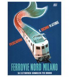 Illustrazioni Ferrovie Italiane - illustrazioni ferroviarie italiane