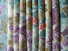 SALE Kimono Fabric Japanese Silk Vintage Scrap 10 by tomoandedie