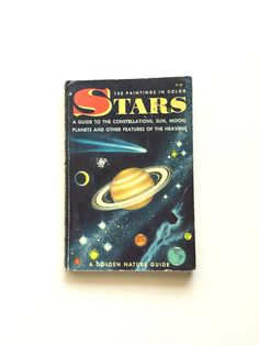 Vintage Golden Nature Guide Stars / Vintage by BertramBergamot