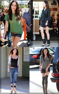 Megan Fox and her street style!  Megan Fox ve sokak stili!  http://blog.pembeseker.com.tr/gunun-stil-onerisi-megan-fox