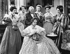 Mary Boland knitting in Pride  Prejudice (1940)