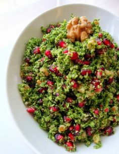 Turkish Salad, Turkish Recipes, Ethnic Recipes, Appetizer Salads, Cooking Recipes, Healthy Recipes, Broccoli Salad, Mediterranean Recipes, Vegan Dishes