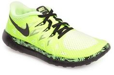 Nike 'Free 5.0' Athletic Shoe (Big Kid)