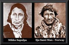 Astonishing resemblance between Raccoon Clan and Sjø Sami (Sea Lapps)   People of One Fire