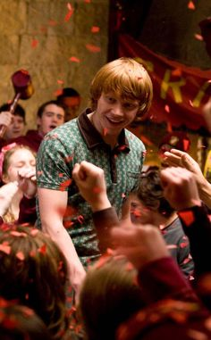 Weasley is our king. And I don't mean that in the slytherin way! 😊