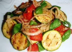 Grilovaná cuketa s paradajkami (fotorecept) - Recept