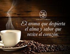 Le invitamos a deleitarse con una rica taza a #LaHacienda #Café #Aroma