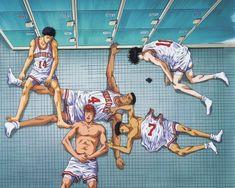 Slam Dunk Manga, Anime Expressions, Hypebeast Wallpaper, Room Posters, Slums, Basketball Teams, Slammed, Manga Art, Otaku