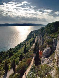 Marjan Hill, the largest park in Split, Croatia #hrvatska #croatia
