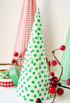 Christmas paper tree craft for 2015 winter that you will like ! - Fashion Blog